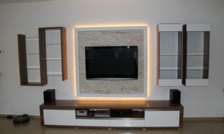 Obývací stěna 14